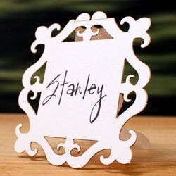 Die-Cut Classic Place Cards