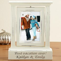 Personalized Rotating Single Photo Frame