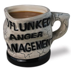 I Flunked Anger Management Mug