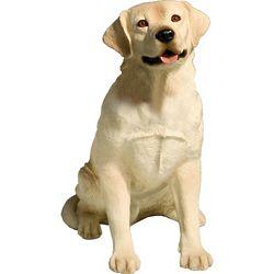 Yellow Labrador Retriever Sculpture
