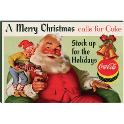 Have Yourself a Coca-Cola Christmas Print