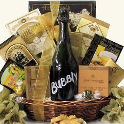 Elegant Expressions Bubbly Sparkling Wine Gift Basket