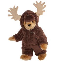Moose Pajamas Teddy Bear