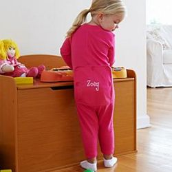 Premium Personalized Child's Long Johns