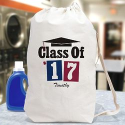 Class of School Colors Personalized Laundry Bag