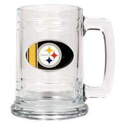 Engraved Pittsburgh Steelers Beer Mug