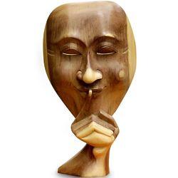 A Secret Shared Wood Sculpture