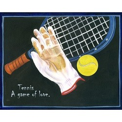 Time for Tennis Fine Art Print