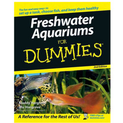 Freshwater Aquariums for Dummies Book, 2nd Edition