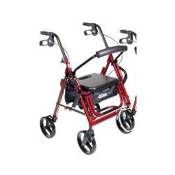 Medical Duet Transport Rollator Chair