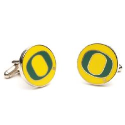 Oregon Ducks Enamel Cufflinks