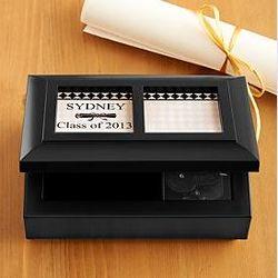 Personalized Graduation Photo Music Box