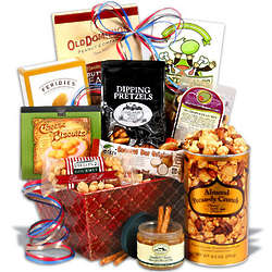 Traditional Gourmet Snack Gift Basket