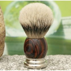 Silvertip Badger Wood Handle Shaving Brush