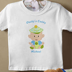 Personalized Golf Buddies Baby T-Shirt