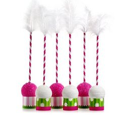 Classic Carnival Birthday Pink and Green Cake Pop Kit