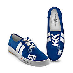 NFL Indianapolis Colts Women's Canvas Sneakers