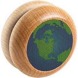 Hardwood Earth Yo-Yo