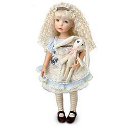 Alice in Wonderland-Inspired Child Doll