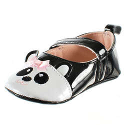 Pretty Panda Mary Jane Booties
