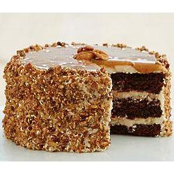 Kosher Chocolate Caramel Pecan Cake