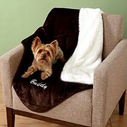 Plush Personalized Pet Blanket