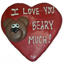 I Love You Beary Much Cookie