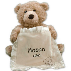 Personalized Peek a Boo Talking Bear