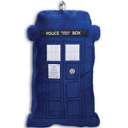 Doctor Who Light-up Tardis Sound Pillow