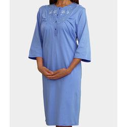 Women's Cotton Knit Hospital Gown