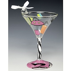 Shopaholic Too Mini Martini Ornament