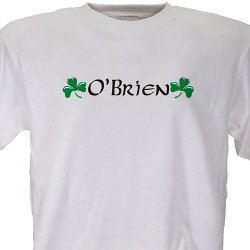 Irish Name Personalized T-Shirt