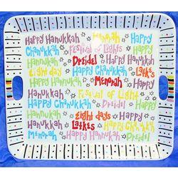 """Something to Kibitz About"" Hanukkah Tray"