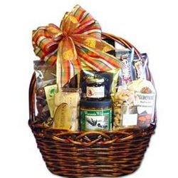 Obviously Wisconsin Gourmet Treats Gift Basket