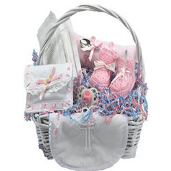 Church Gift Basket for Baby Girl