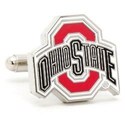 Ohio State University Buckeyes Enamel Cufflinks