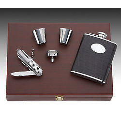 5 Piece Flask Set