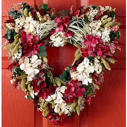 Cupids Garden Heart Wreath