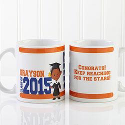 Graduation Character Personalized Graduation Coffee Mug