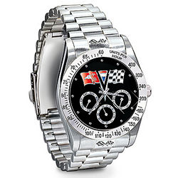 Legend For All Time Corvette Men's Chronograph Watch