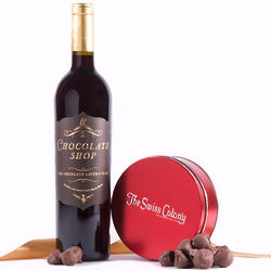 Chocolate Lovers Delight Red Wine and Nuts Set