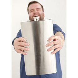 1-Gallon Stainless Steel Flask