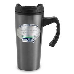 Seattle Seahawks Engraved Travel Mug