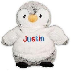 "Personalized 10"" Go USA Penguin"