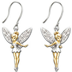 Disney Tinker Bell Believe Earrings