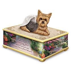 Thomas Kinkade Forever My Friend Yorkie Memory Box