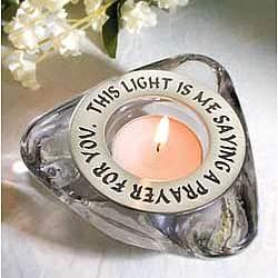 Prayer Candle Holder