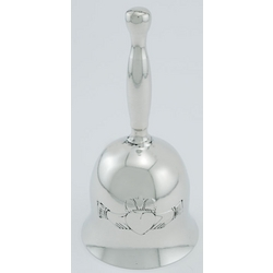 Pewter Claddagh Wedding Bell