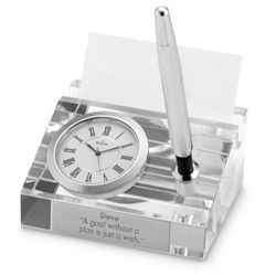 Bulova® Executive Dryden Clock