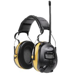 Noise Reducing Headphones with AM/FM Radio